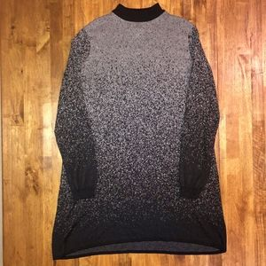 Simply Vera | Black & Grey Ombre Sweater Dress